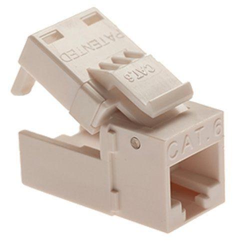 Almond Platinum Tools EZ-SnapJack Cat6 706LA-40 40 pc//Installer Pack Lt