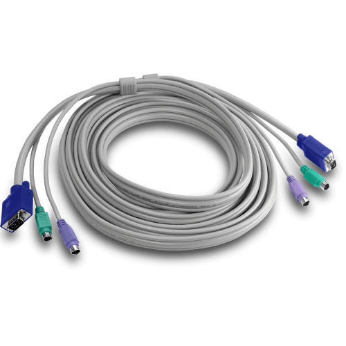 TRENDnet PS2 VGA Combo KVM Male to Male Cable TK-C10 10 Feet