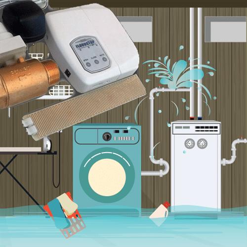 FloodStop Appliance Leak Prevention