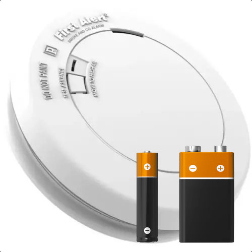 Battery Powered Smoke Alarms