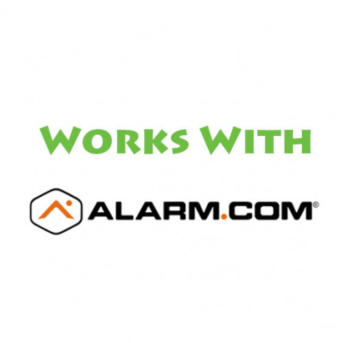 Works with Alarm.com