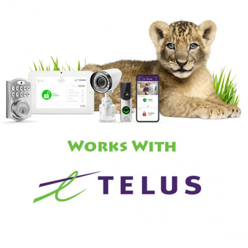 Works With TELUS SmartHome