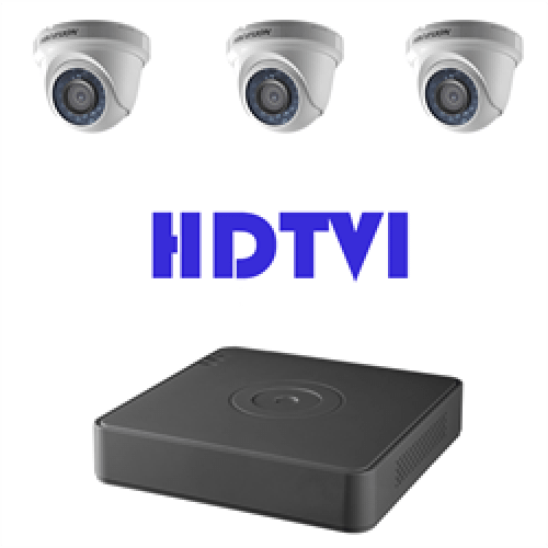HDTVI Security Cameras & DVRs