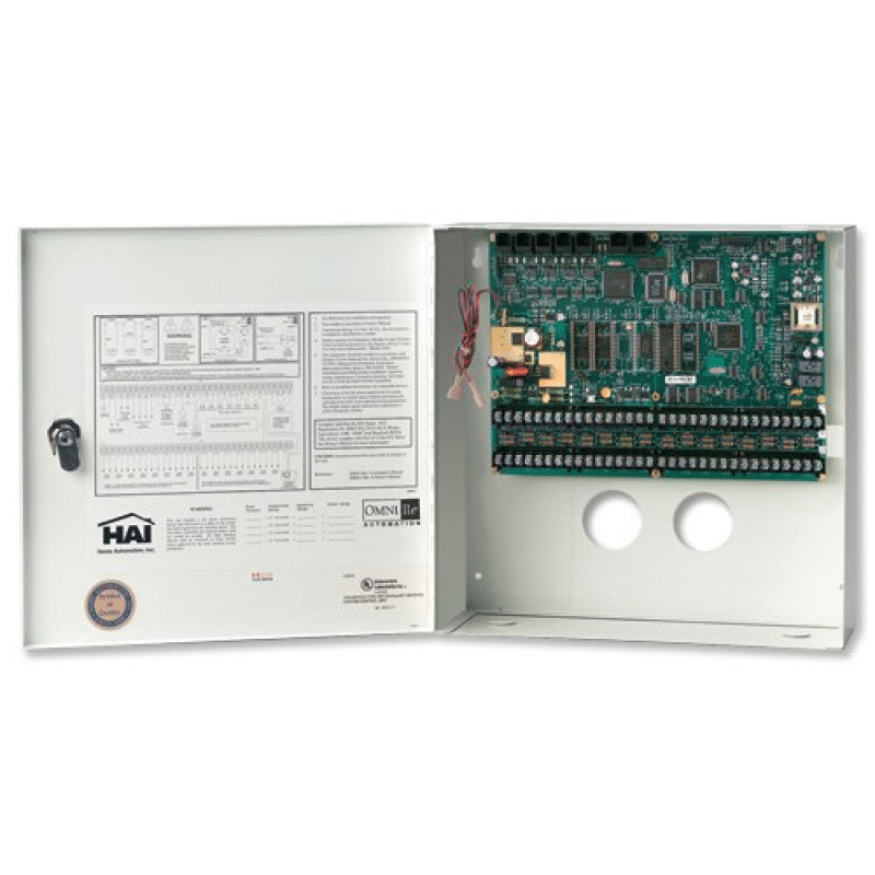 Leviton HAI OmniPro II Controller in Enclosure - English on