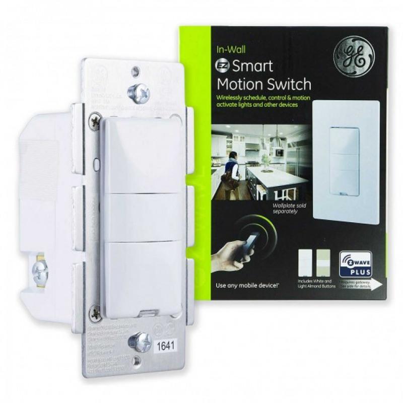 On//O Table Shelf Or Wall Mount Ge Enbrighten Z-Wave Plus Smart Motion Sensor