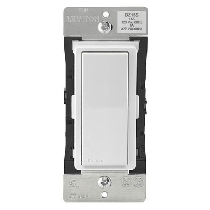 Leviton Decora Digital Zwave Plus On Off Wall Switch on