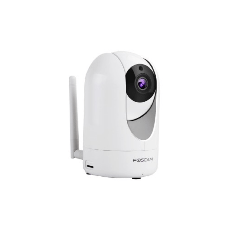 Foscam Indoor Pan Tilt Wired and WIFI Network Camera,2MP, 1080P, microSD, on